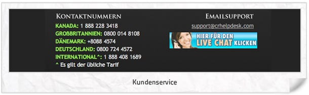 Luxury Casino Kundenservice