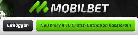 MobilbetCasino bietet 10 Euro Bonus ohne Einzahlung