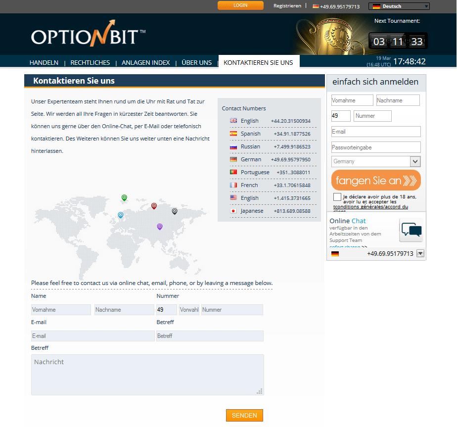 Binre optionen signale test online