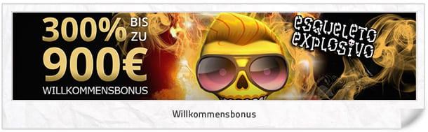 Osiris Casino Bonus: 900 Euro (300 Prozent) Willkommensbonus
