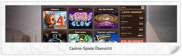Osiris_Casino_Casino-Spiele
