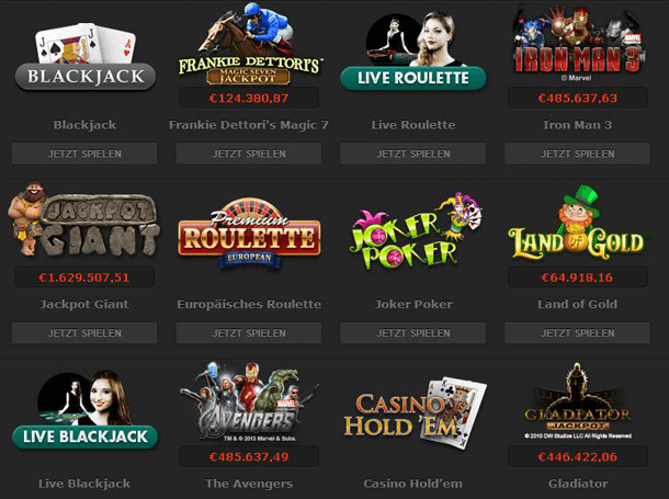 PlayTech Casino mit PayPal bezahlen und sofort spielen