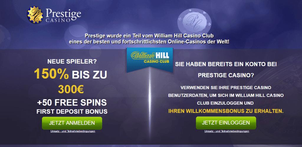 Prestige Casino Gutscheincode