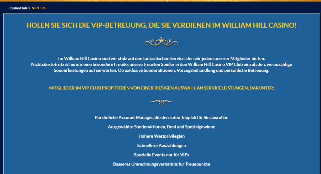 Der VIP Casino Club