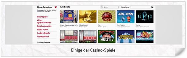 Tipico Casino: Die Casinospiele bei Tipico