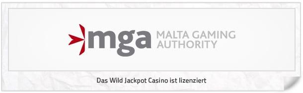 WildJackpotCasino_Lizenz