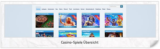 germany casino age