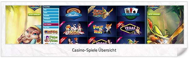 WilliamHillVegas_Casino-Spiele
