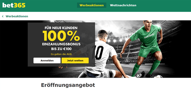 bet365 Aktionscode
