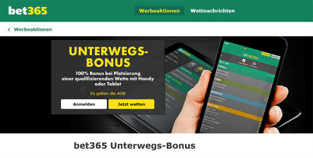 bet365 Bonus ohne Einzahlung