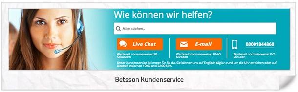 betsson_Kundenservice