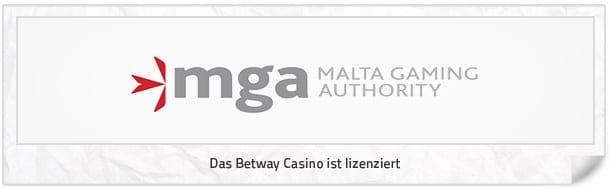 betway Casino: betway Casino Lizenz