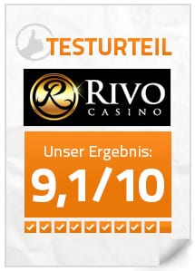 rivo casino test
