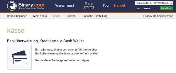 Überweisung, Kreditkarte oder E-Cash?
