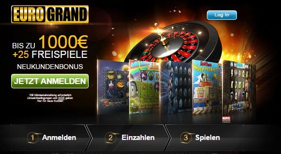 Eurogrand Casino: Der Eurogrand Casinobonus.