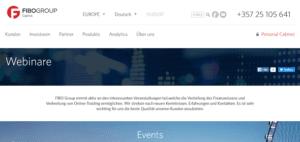 FIBO Group Webinare