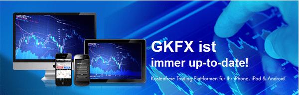 Die Mobile-App des Brokers FKFX