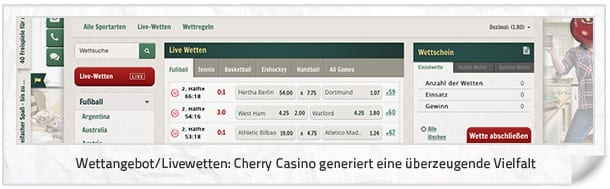 Cherry Casion Livewetten Center