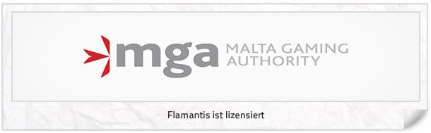 MGA Lizenz bei Flamantis