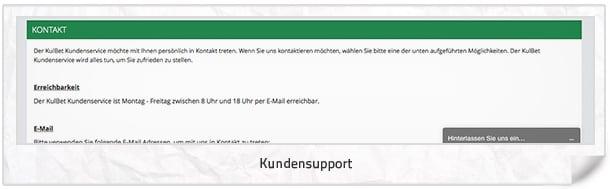 Kulbet Support