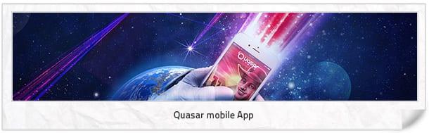 Quasar mobile App