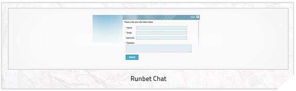 Runbet Kundenservice Chat