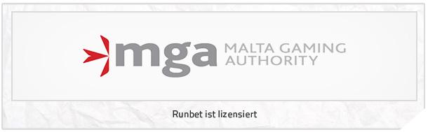 Runbet Lizenz Malta