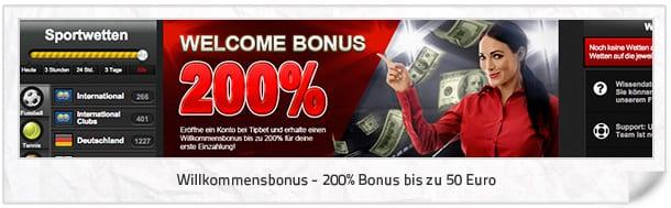 Tipbet Bonus - was verbirgt sich dahinter