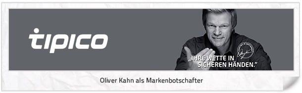 Tipico mit Oliver Kahn als Werbegesicht