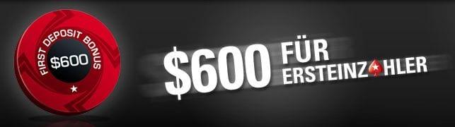 Pokerstars Bonus: Einzahler Poker Bonus PokerStars