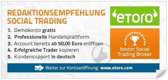 Bester Social Trading Broker 2015