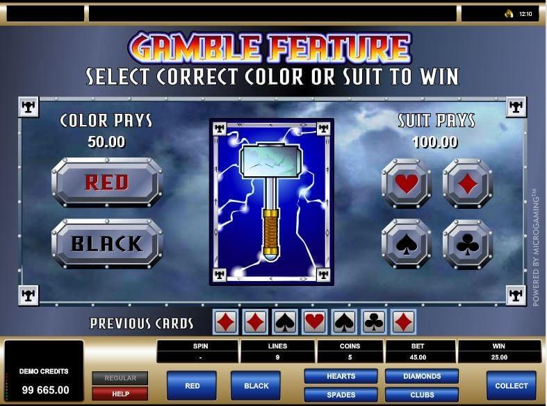 Bonuslevel beim Thunderstruck-Slot nur für eingefleischte Zocker