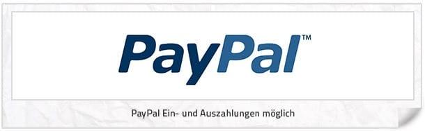 tipico Auszahlung: Bei tipico PayPal nutzen.