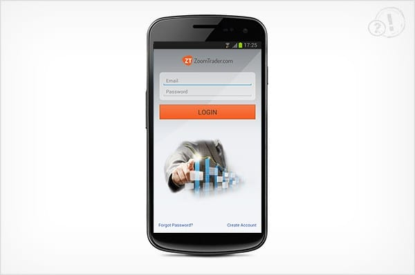 ZoomTrader App login